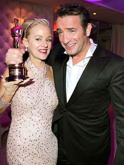 SILENCE IS GOLDEN photo | Jean Dujardin, Penelope Ann Miller