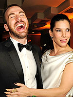 Oscars 2012 Party Time! | Sandra Bullock