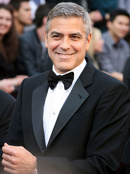 SEXIEST SEXIEST MAN ALIVE: GEORGE CLOONEY