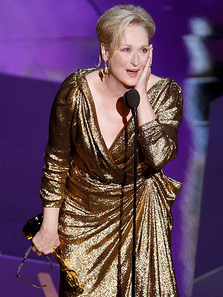 MOST DESERVING BEST ACTRESS: MERYL STREEP