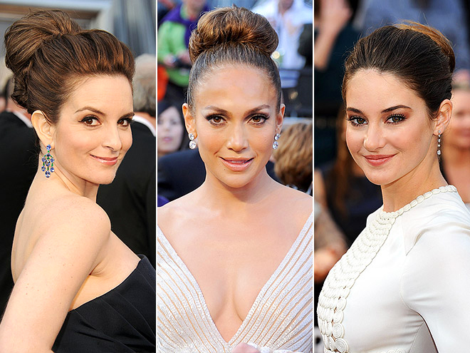 BIG BUNS photo | Jennifer Lopez, Shailene Woodley, Tina Fey