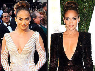 Look Back: Stars' Oscars Wardrobe Changes | Jennifer Lopez