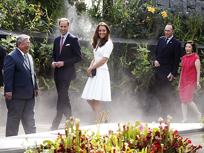 SECRET GARDEN photo | Kate Middleton, Prince William