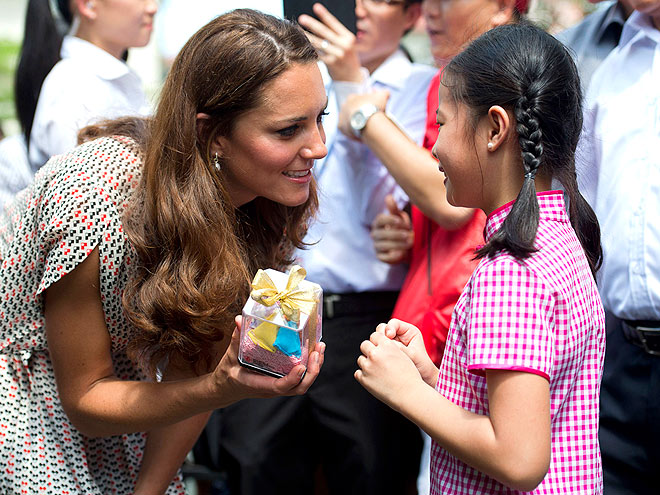 &#39;PRESENT&#39; DAY photo | Kate Middleton