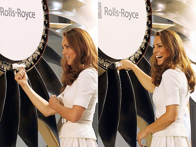 MARK HER ENGINES photo | Kate Middleton