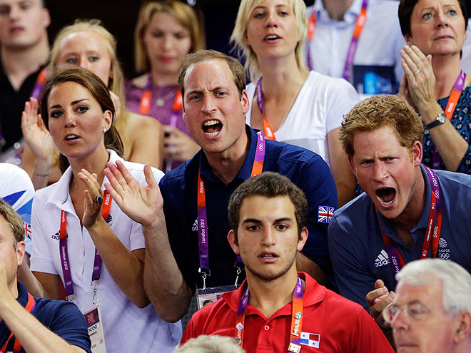 6. BE AN OLYMPIC MASCOT photo | Kate Middleton, Prince Harry, Prince William