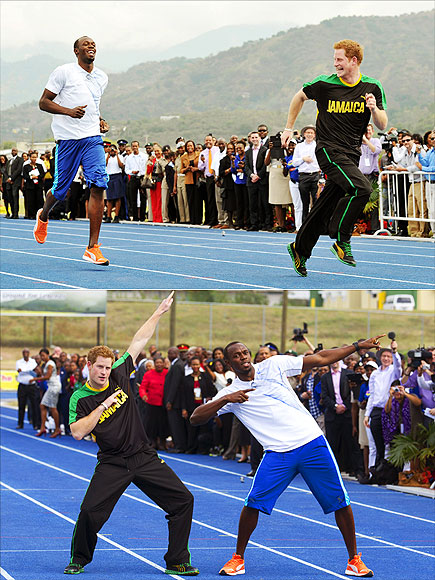 2. BEAT THE WORLD'S FASTEST MAN photo | Prince Harry
