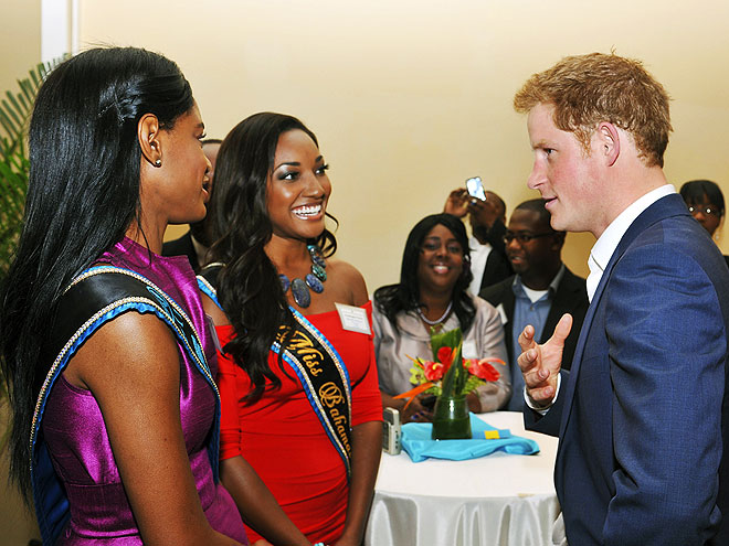 3. PRACTICE DIPLOMACY WITH (BEAUTY) QUEENS photo | Prince Harry