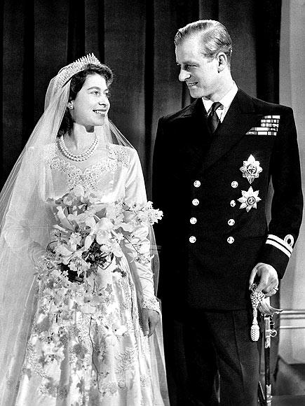 Свадьба Елизаветы II c принцем Филиппом