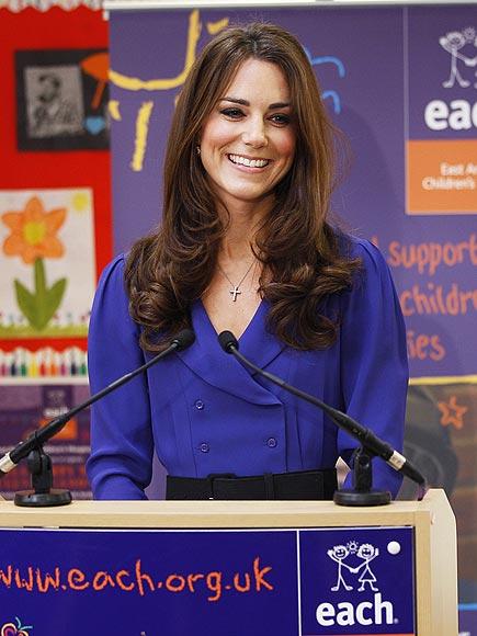 FIRST PUBLIC SPEECH  photo | Kate Middleton