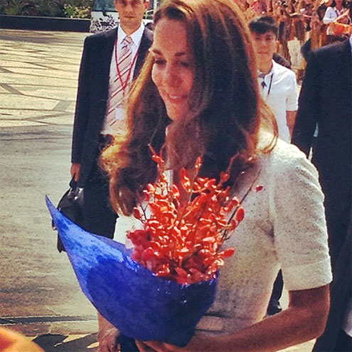 FLOWER GIRL photo | Kate Middleton, Prince William
