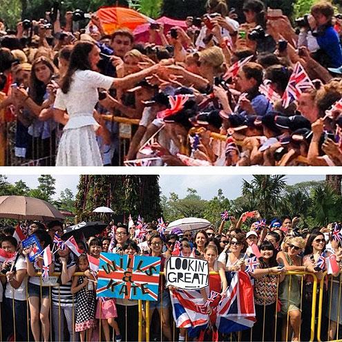 FAN-DEMONIUM photo   Kate Middleton, Prince William