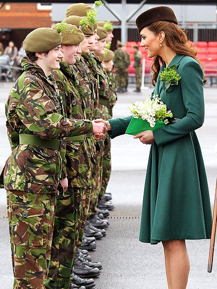 GREEN SCENE  photo | Kate Middleton