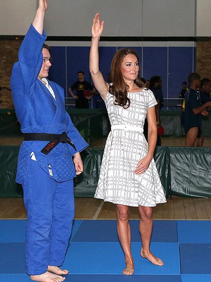 KARATE BID photo   Kate Middleton
