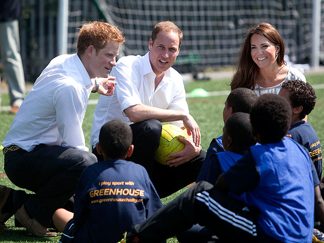 PEP RALLY photo | Kate Middleton, Prince Harry, Prince William