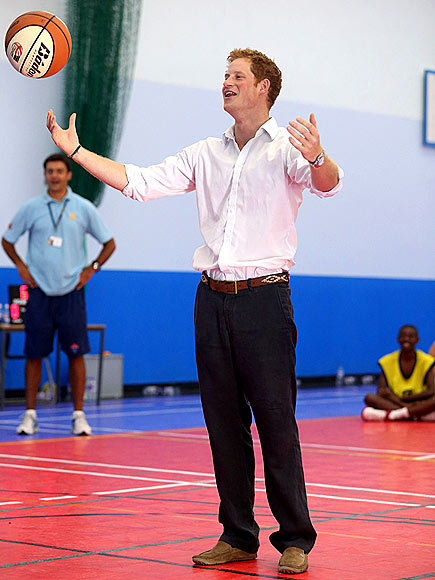 FREE THROW photo | Prince Harry