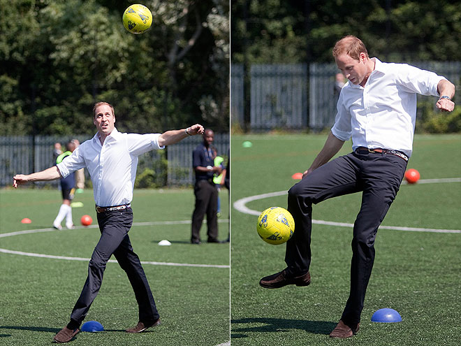 THE KICKER photo   Prince William