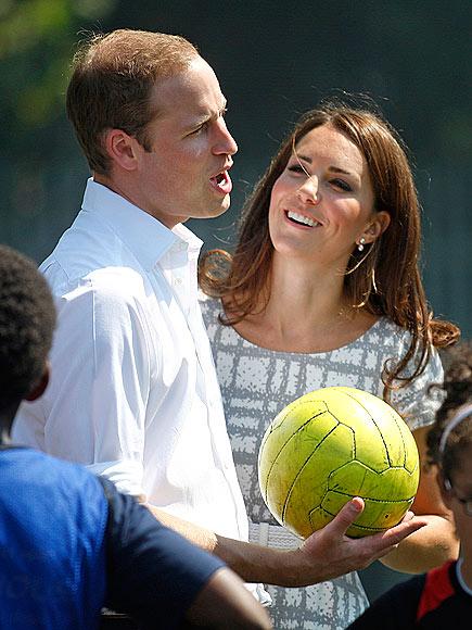 SOCCER STUD photo   Kate Middleton, Prince William