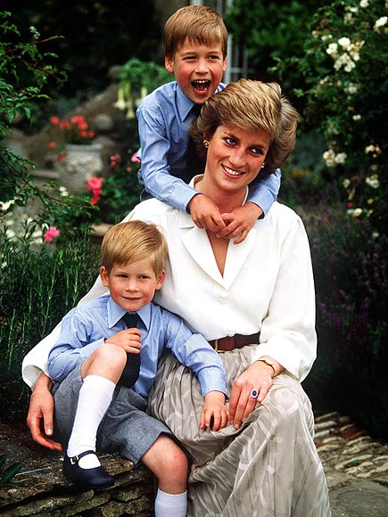 BABY BLUES  photo | Prince Harry, Prince William, Princess Diana