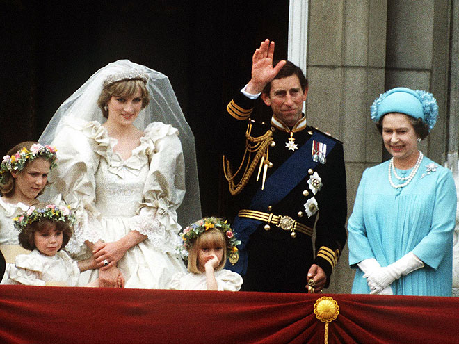 WEDDING FEVER photo | Prince Charles, Princess Diana, Queen Elizabeth II