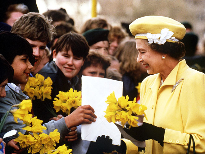 BIRTHDAY GIRL photo | Queen Elizabeth II