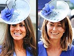 Kate's Family Fashion Swap | Carole Middleton, Kate Middleton