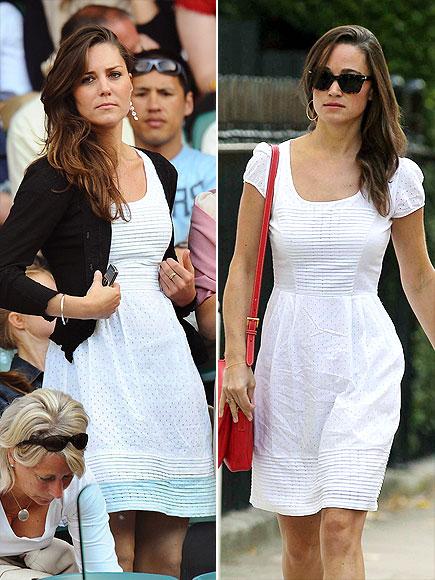 THE WHITE STUFF  photo | Kate Middleton, Pippa Middleton