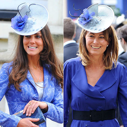 HATS OFF   photo | Carole Middleton, Kate Middleton