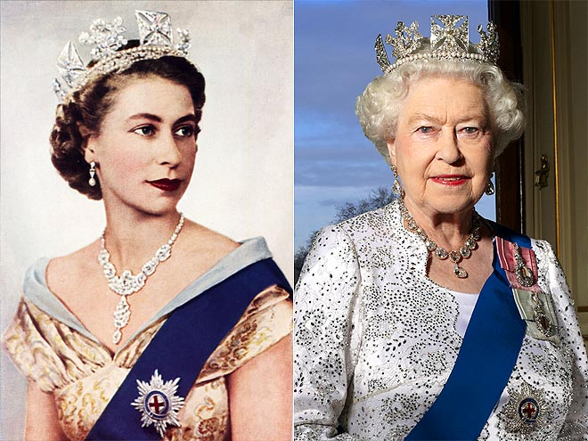 DIAMOND DIADEM photo | Queen Elizabeth II