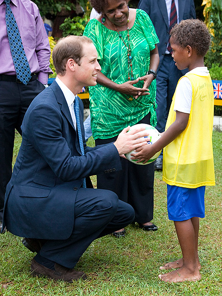 HAVING A BALL photo | Prince William