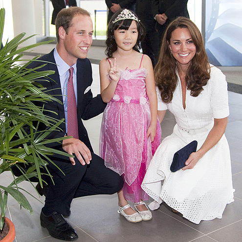 LITTLE PRINCESS photo | Kate Middleton, Prince William