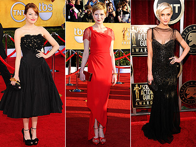 15 Best Dressed Stars of the 2012 SAG Awards | Emma Stone
