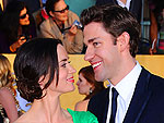 Red-Hot Couples of the 2012 SAG Awards | Emily Blunt, John Krasinski