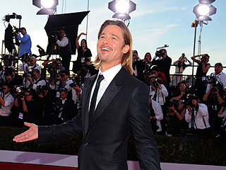 Stars Let Loose at the 2012 SAG Awards | Brad Pitt