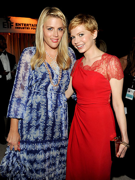 BFF SALUTE photo | Busy Philipps, Michelle Williams