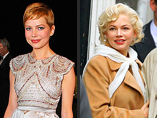 SAG Awards Stars' Amazing Style Makeovers | Michelle Williams