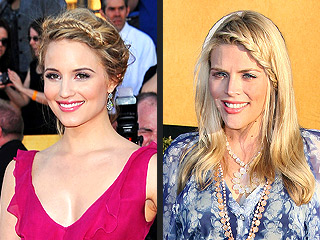 7 Trends Spotted at the 2012 SAG Awards | Busy Philipps, Dianna Agron, Kaley Cuoco