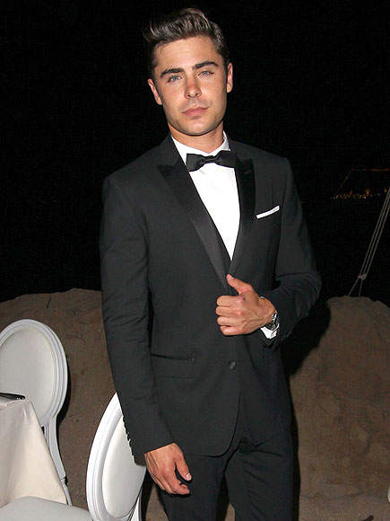 A TUX photo | Zac Efron