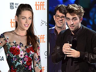 Rob & Kristen Step Out Simultaneously – 2,500 Miles Apart