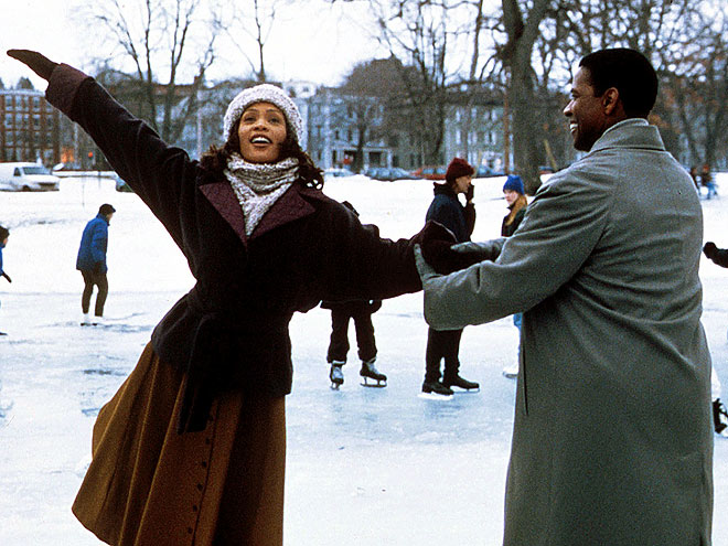 A HOLY UNION photo | Denzel Washington, Whitney Houston