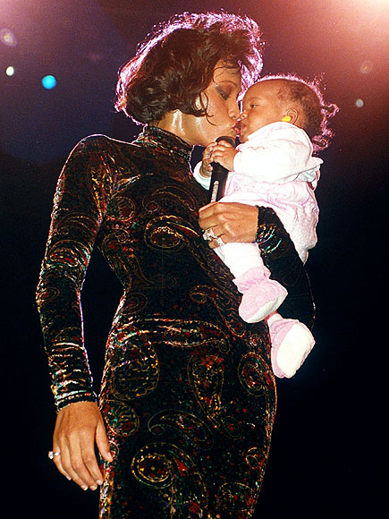 STAGE MOTHER photo | Whitney Houston