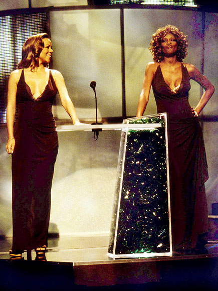 SOUL SISTERS photo | Mariah Carey, Whitney Houston