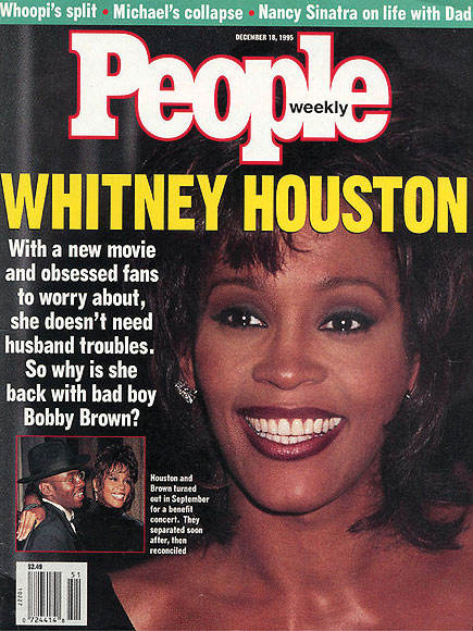 December 18, 1995 photo | Whitney Houston