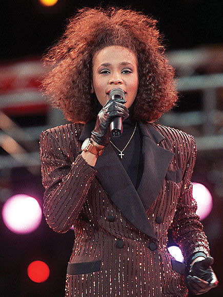GOING BIG, 1988 photo | Whitney Houston