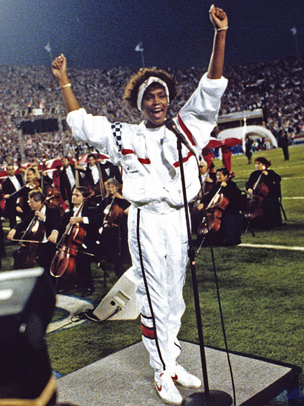 SUPERBOWL STUNNER, 1991 photo | Whitney Houston
