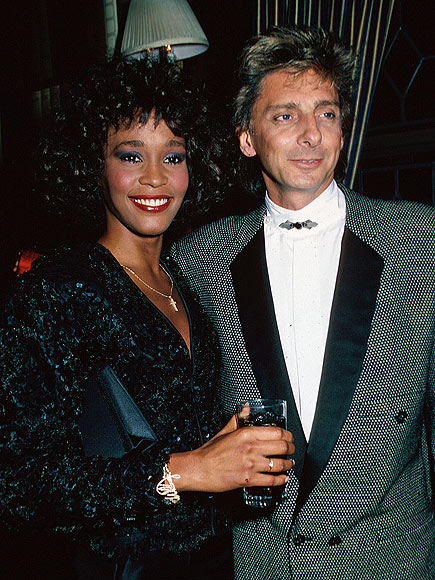 BARRY MANILOW photo | Barry Manilow, Whitney Houston
