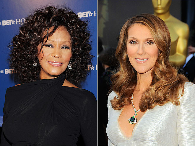 CELINE DION photo | Celine Dion, Whitney Houston