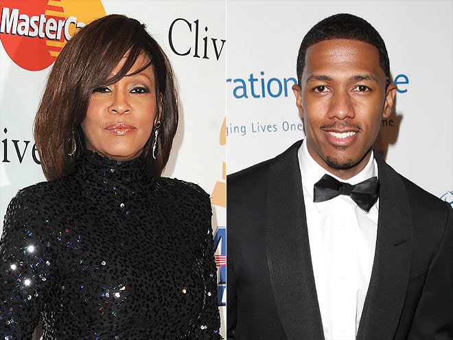 NICK CANNON photo | Nick Cannon, Whitney Houston