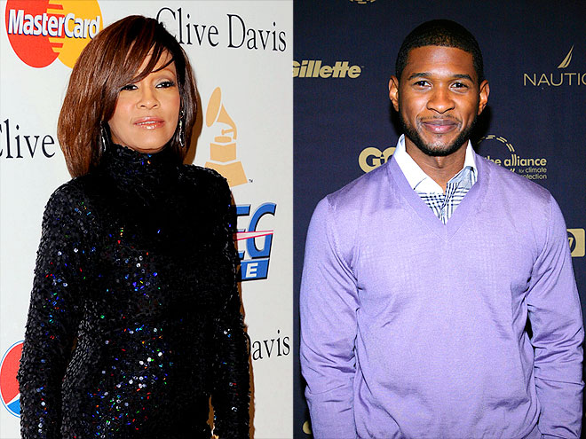 USHER photo | Usher Raymond, Whitney Houston