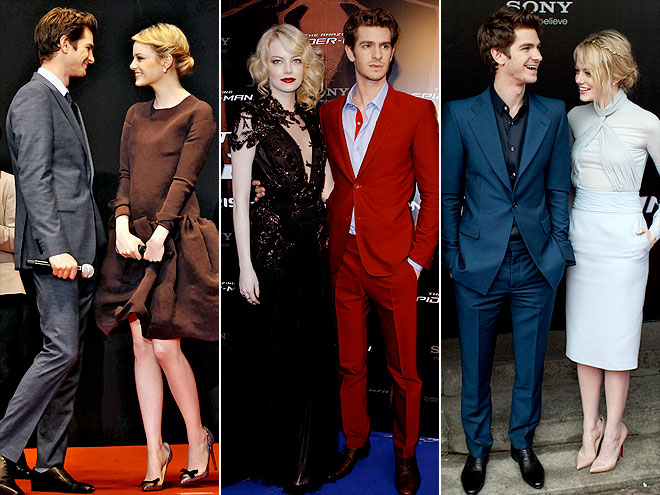 BEST DRESSED COUPLE: EMMA & ANDREW photo | Andrew Garfield, Emma Stone